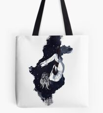 aerial yoga goddess 01 // aerial unicorn midnight edition Tote Bag