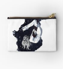 aerial yoga goddess 01 // aerial unicorn midnight edition Studio Pouch