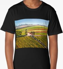 Tuscany - Vineyards Long T-Shirt