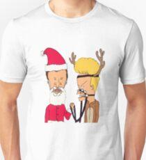 BEAVIS AND BUTTHEAD CHRISTMAS COSTUME T-Shirt