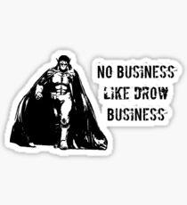 Drow Business Sticker