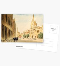 Oxford Students In The High Street Postcards