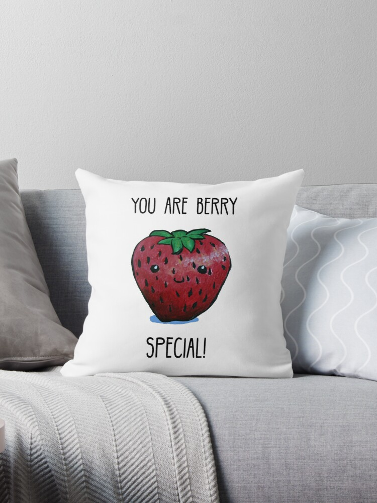 Food Pun - You are Berry Special by artsbycheri
