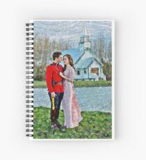 Jack And Elizabeth Spiral Notebook