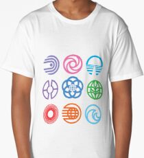 The Symbols of Epcot Long T-Shirt