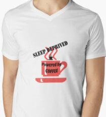 Sleep deprived - powered by coffee T-Shirt