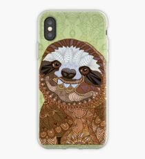 Smiling Sloth iPhone Case