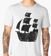 Pirate Ship Silhouette Men's Premium T-Shirt