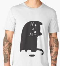 Cat Looking at a Thing Men's Premium T-Shirt