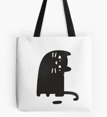 Cat Looking at a Thing Tote Bag
