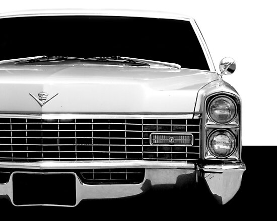 1967 Cadillac - High Contrast by mal-photography