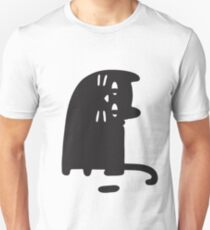 Cat Looking at a Thing Unisex T-Shirt