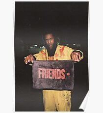 Asap Rocky - Friends Poster