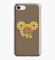 Candy Corn Wishes Boo to You iPhone Case/Skin