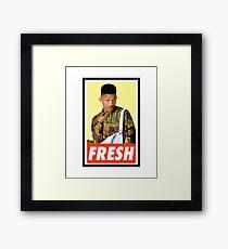 FRESH Framed Print