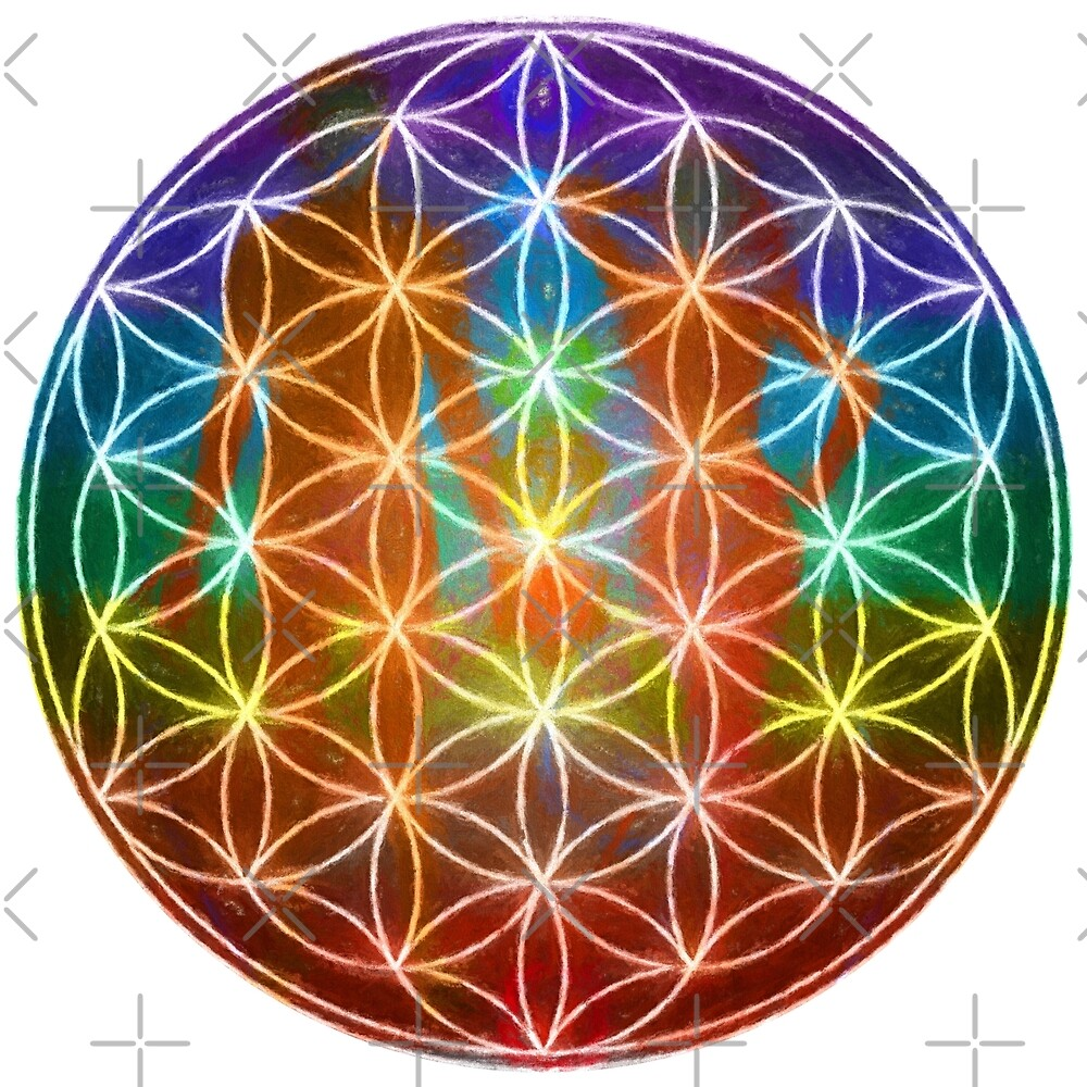 Flower of Life - Alpha by Energetic-Mind