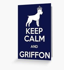 GRIFFON Greeting Card