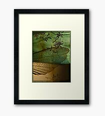 Rusted Wing Framed Print
