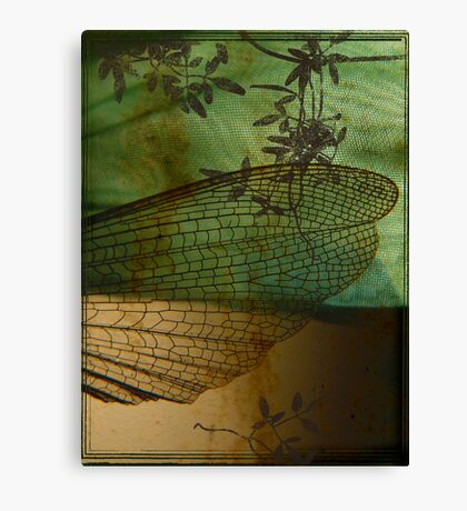 Rusted Wing Canvas Print