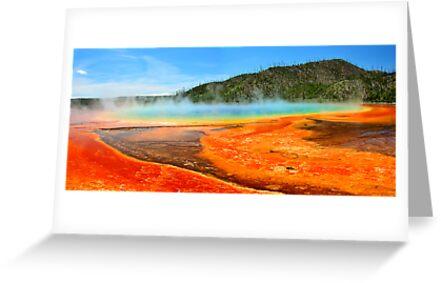 Grand Prismatic Spring, Yellowstone National Park by Mark Bolen