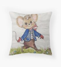 Mouse Tales Throw Pillow