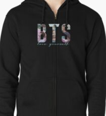 BTS - LOVE YOURSELF Zipped Hoodie
