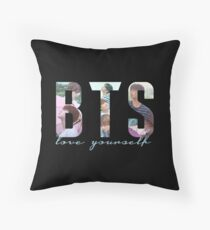 BTS - LOVE YOURSELF Throw Pillow