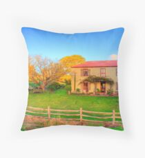 Appletree Cottage, Adelaide Hills Throw Pillow