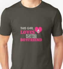 This Girl Loves Boating With Her Boyfriend T-Shirt
