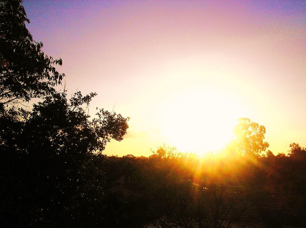 Sunset by JordanP