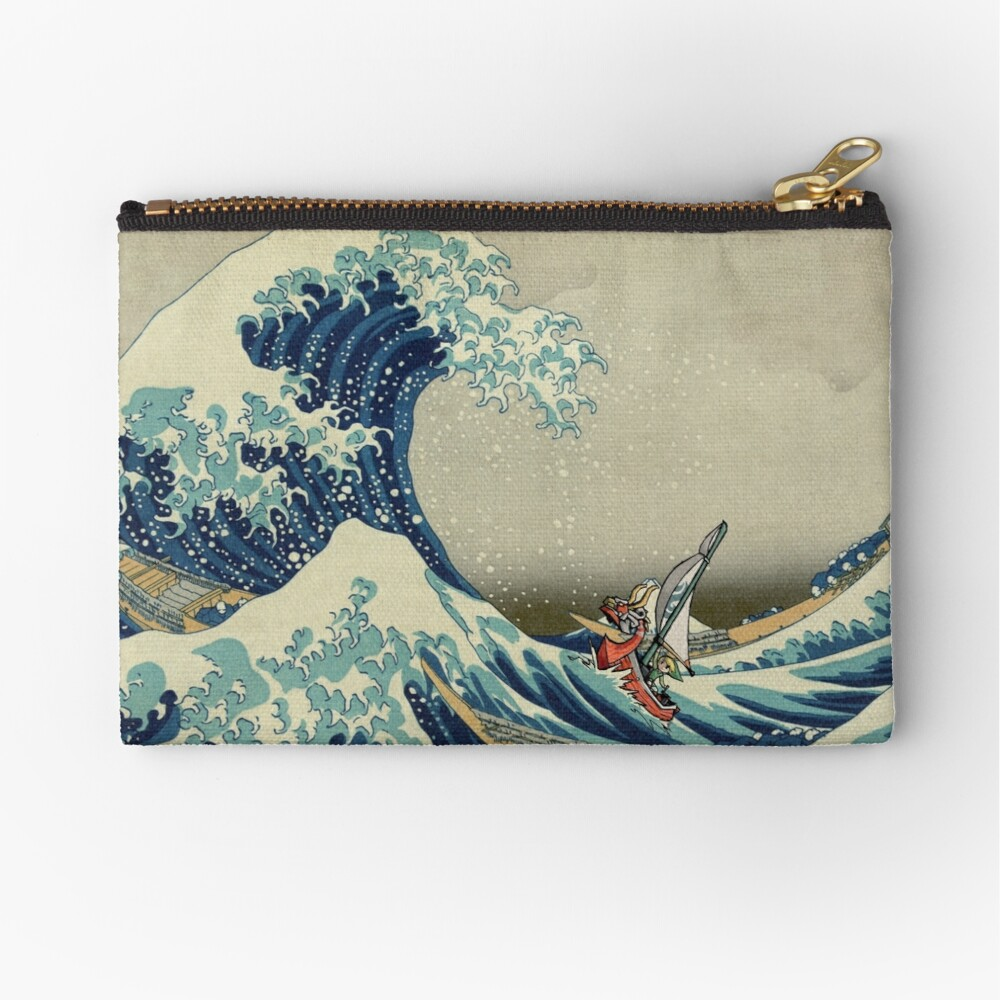 The Wave Zipper Pouch