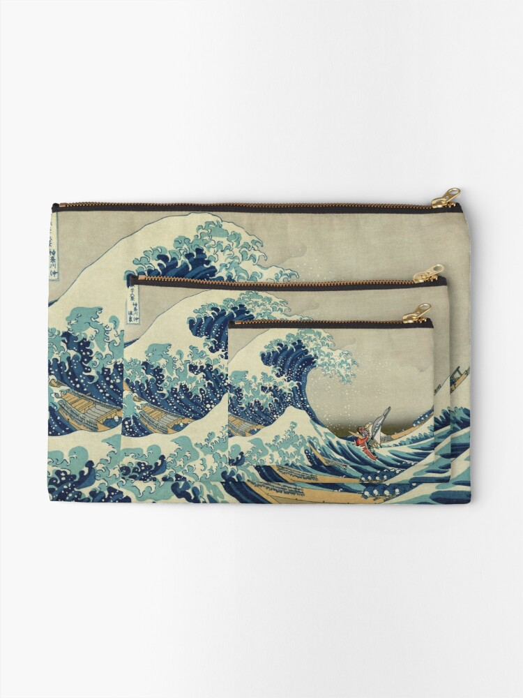 Alternate view of The Wave Zipper Pouch