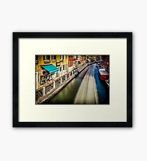 Water Ghosts Part 1 Framed Print