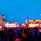 adelaide show, the rides by Christopher Birtwistle-Smith