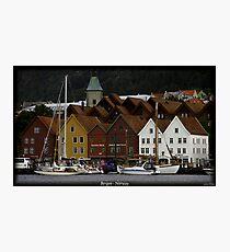 Bergen  - Norway Photographic Print