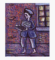 The matchseller Photographic Print