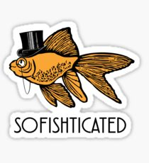 Sofishticated Goldfish Sticker