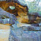 Hangman's Cave - Great North Road - Wiseman's Ferry by Bev Woodman