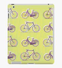 Vintage Bikes Screen Printing style iPad Case/Skin