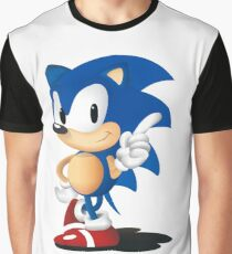 Sonic The Hedgehog Classic Graphic T-Shirt