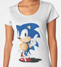 Sonic The Hedgehog Classic Women's Premium T-Shirt