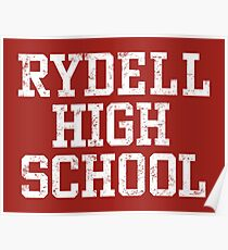 Grease - Rydell High Poster