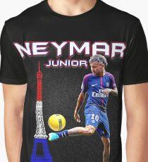 neymar Junior Paris Graphic T-Shirt