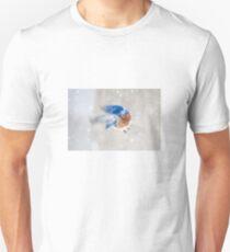 Bluebird in Snow T-Shirt