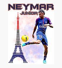 Neymar Jr  Paris Tshirt Photographic Print