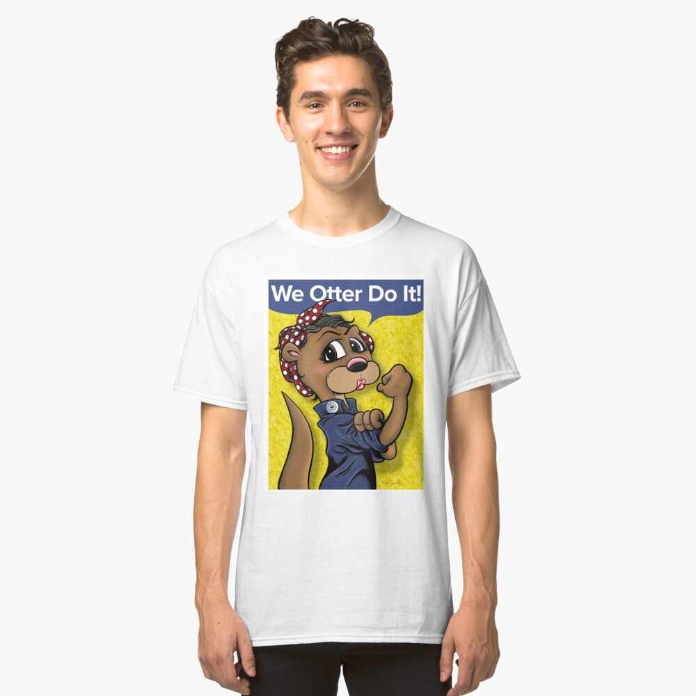 ROSIE THE OTTERER Classic T-Shirt Front