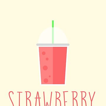 Strawberry Smoothie by Sopheric