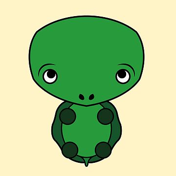 Super cute little turtle by abou