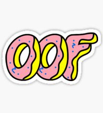 Fantastic American Oof Clothes #1 Go Yes! Sticker