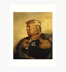 Lámina artística Dios emperador Trump